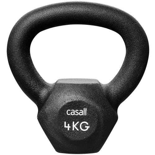 Casall Classic Kettlebell 4kg Black