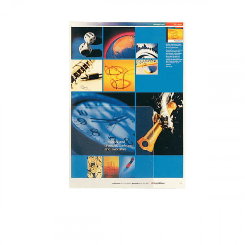 ESSELTE Plastmapp A4 160my Transparent 100-pack