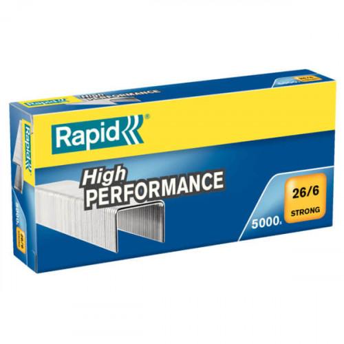 RAPID Klammer Strong 26/6 Galvaniserad 5000
