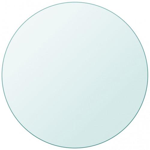vidaXL Bordsskiva härdat glas rund 900 mm
