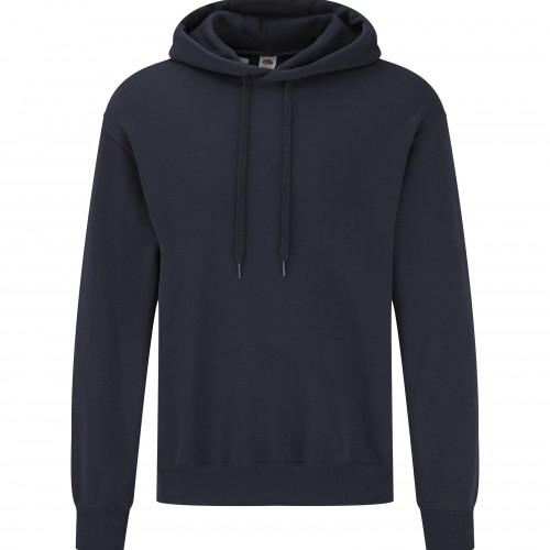 Fruit of the loom Classic Hooded Basic Sweat Deep Navy