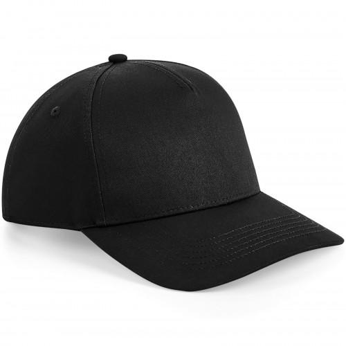 Beechfield Urbanwear 5 Panel Snapback Black