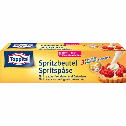 Toppits Spritspåsar 10st   (Obs 12st D