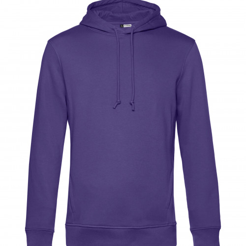 B and C Collection B&C Organic Hooded Radiant Purple