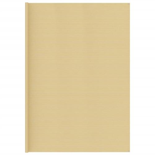 vidaXL Tältmatta 400x700 cm beige
