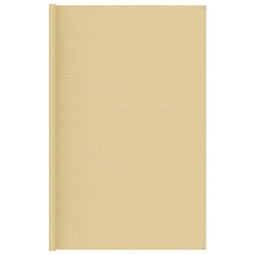 vidaXL Tältmatta 300x500 cm beige