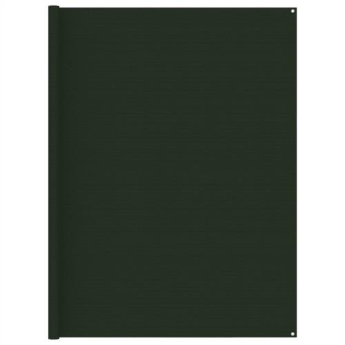 vidaXL Tältmatta 250x450 cm mörkgrön