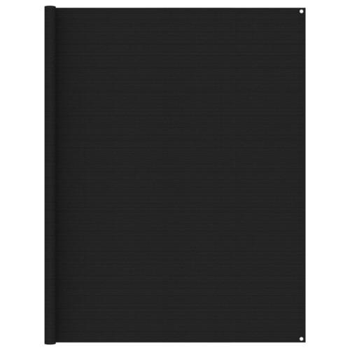 vidaXL Tältmatta 250x250 cm svart