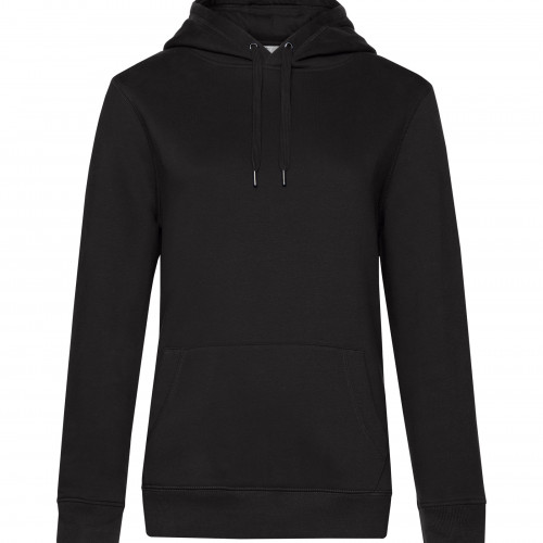 B and C Collection B&C QUEEN Hooded BlackPure
