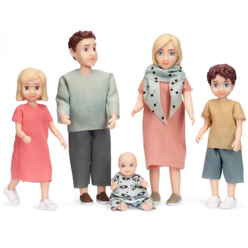 Lundby Dockset Familj Charlie