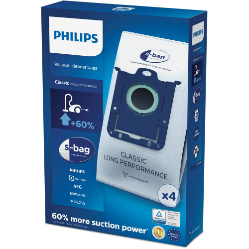 Philips S-bag Dammsugare påsar Philips