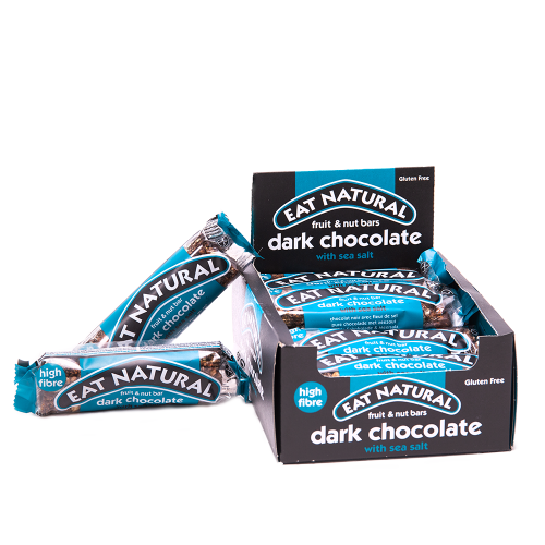 Eat Natural 12-pack Dark Chocolate (kort utgångsdatum)