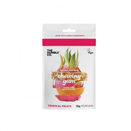 The humble co. Natural Chewing Gum - Tropical Fruits