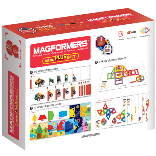 Magformers Wow Plus Set