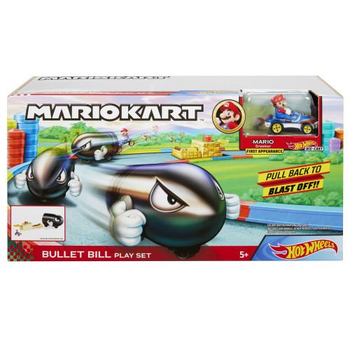 Hot Wheels Mario Kart Bullet Bill Launche