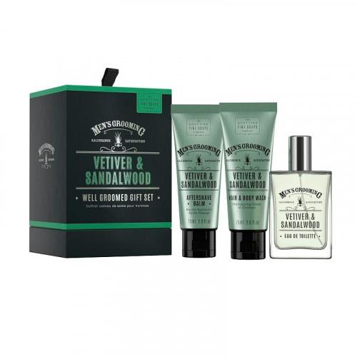The Scottish Fine Soaps Compan Giftset Scottish Fine Soaps Thistle & Black Pepper Well Groomed Gift Set