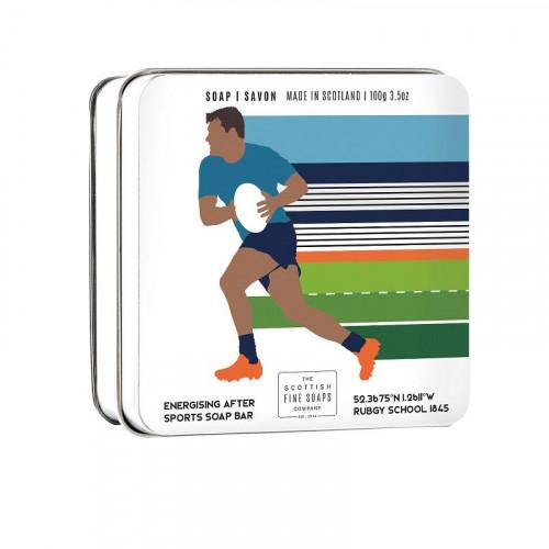 The Scottish Fine Soaps Compan Scottish Fine Soaps Sports Soap Bar Rugby 100g