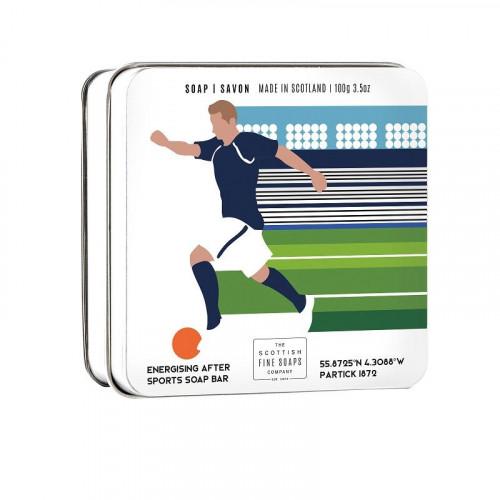 The Scottish Fine Soaps Compan Scottish Fine Soaps Sports Soap Bar Football 100g