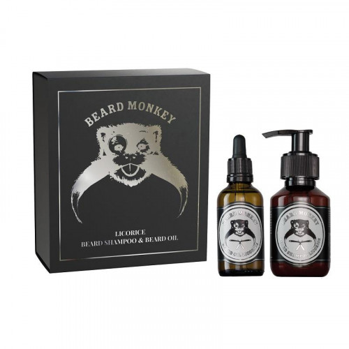 Beard Monkey Giftset Beard Monkey Licorice 2020