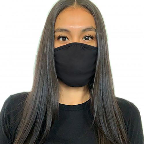 FRUIT Next Level Eco Performance Face Mask Black