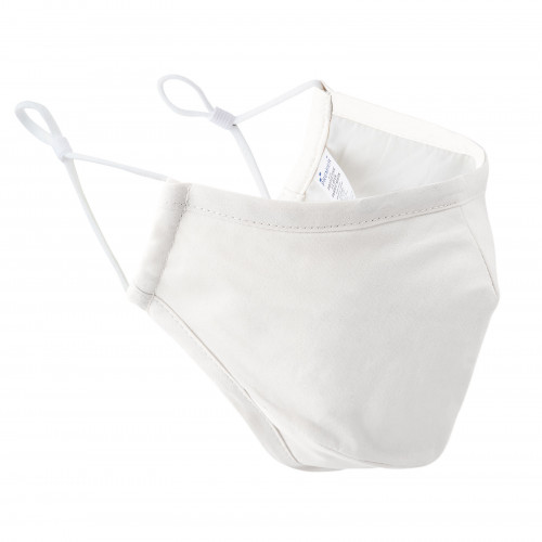 Premier 3 Layer Fabric Face Mask White