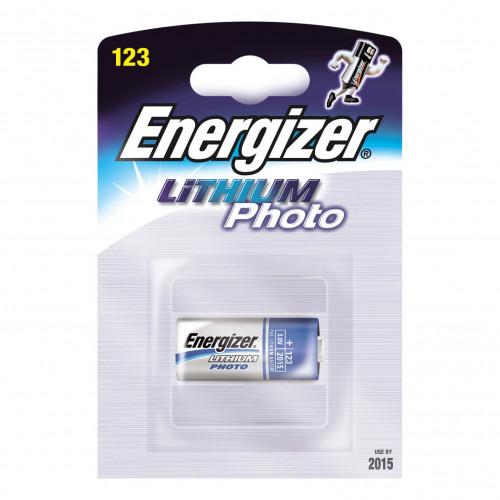 ENERGIZER Batteri CR123 Lithium 1-pack