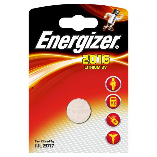 ENERGIZER Batteri CR2016 Lithium 1-pack