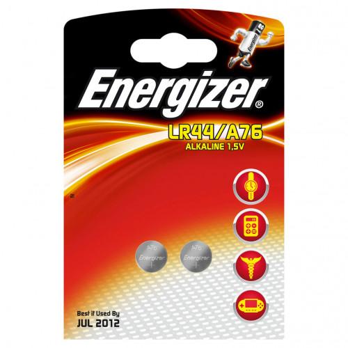 ENERGIZER Batteri LR44/A76 2-pack