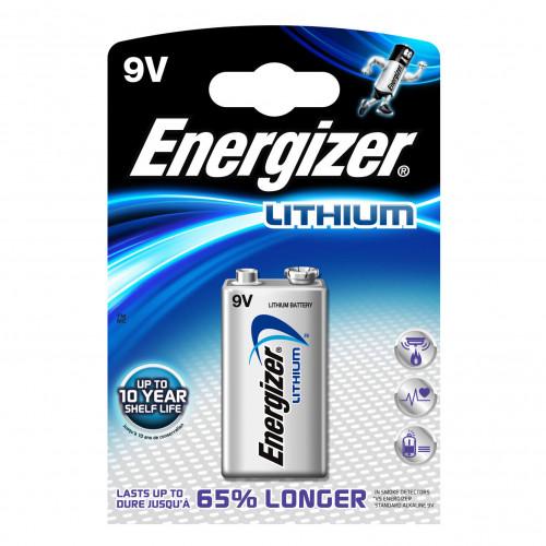 ENERGIZER Batteri 9V/6LR61 Ultimate Lithium 1-pack
