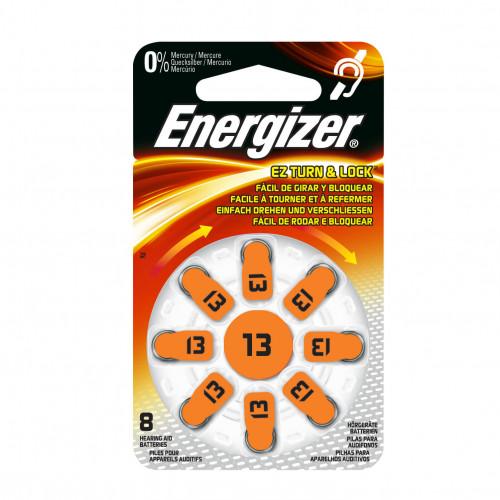 ENERGIZER Batteri Hörapparat Zinc Air 13 TL8 8-pack