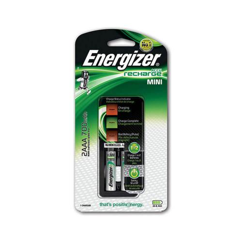 ENERGIZER Laddare Mini 2x AAA 700mAh