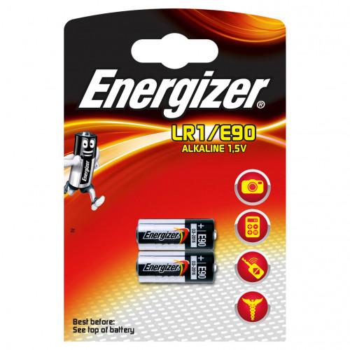 ENERGIZER Batteri LR1/E90 Alkaline 2-pack