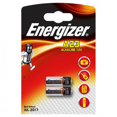ENERGIZER Batteri A23/E23A Alkaline 2-pack