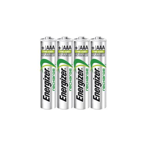 ENERGIZER Batteri AAA/LR03 Laddbart Ni-Mh 500mAh 4-pack