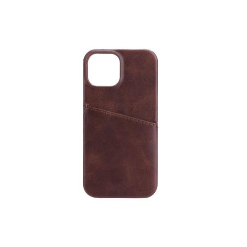 ONSALA Mobilskal Brun med Kortfack iPhone 13 Mini