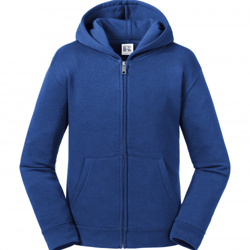 Russell Kids Authentic Zipped Hood Sweat Bright Royal