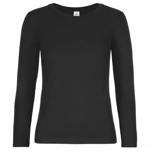 B and C Collection #E190 LSL /women Black