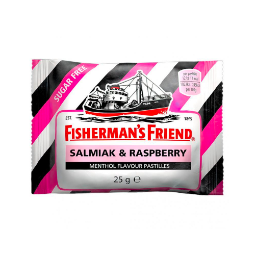 FISHERMAN'S FRIEND Fisherman's Salmiak & Rasberry sockerfri 25 g