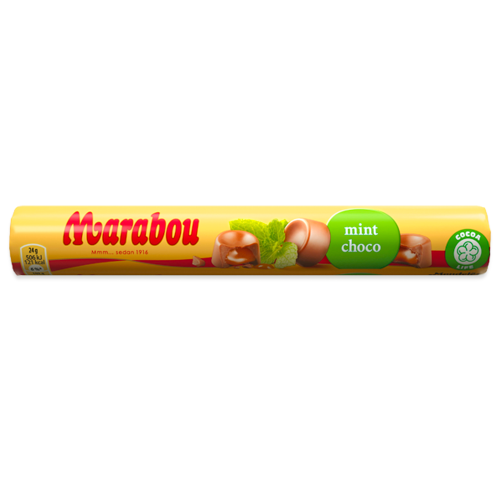 Marabou Mintchoco Rulle